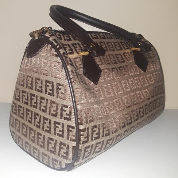3b15f7ca7c4e Fendi Handbags - FENDI 70s vintage zucca speedy bag 100% authentic